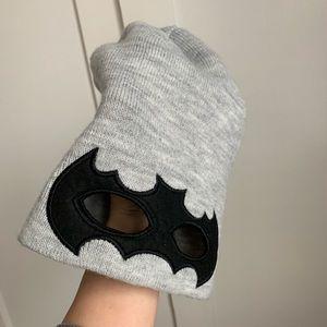 Boys fall winter hat Batman eyes